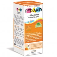 Pediakid 22 Vitamines et Oligo-éléments Goût Orange Abricot 250 ml