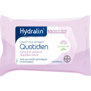 Hydralin Protection Quotidienne Lingettes Intimes x 10