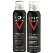 Vichy Homme Gel Rasage Anti-irritations 2 x 150 ml