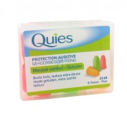 Quies Protection Auditive Mousse Fluo x 12