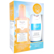Eucerin Sun Sensitive Protect Spray Transparent SPF50 200 ml + After Sun 150 ml