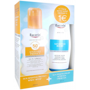 Eucerin Sun Sensitive Protect Spray 50+ 200 ml + After Sun 150 ml