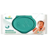 Pampers Sensitive Lingettes x 56