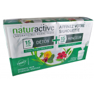 Naturactive Duo Détox Sticks x 15 + Minceur Sticks x 15