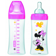 Dodie Biberon 2ème âge Initiation+ Minnie 330 ml
