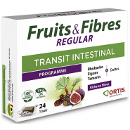 Ortis Fruits & Fibres Regular Cubes à Mâcher x 24