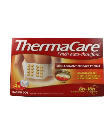 ThermaCare Patch Auto-chauffant Dos x 4