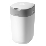Tommee Tippee Poubelle à Couches Twist And Click Blanc