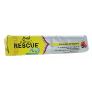 Rescue Plus Coeurs Fondants Vitaminés Fruits Rouges x 10