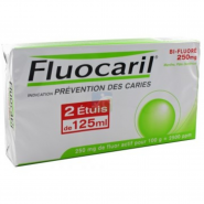 Fluocaril Bi-Fluoré 250 mg Menthe Gel Dentifrice