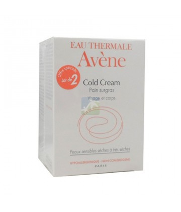 Avène Cold Cream Duo Pain Surgras 2 x 100 g